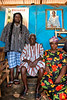 Fetish Priest and Followers, Fiema-Boabeng Villages, Ghana