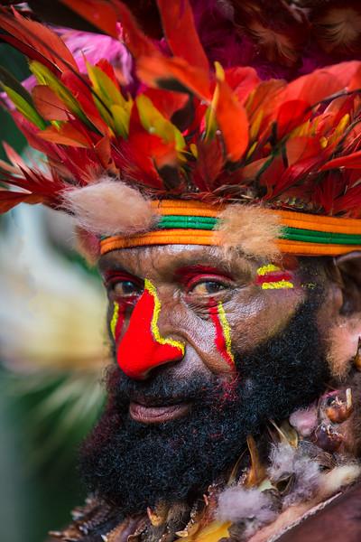 Bearded Man, Papua New Guinea