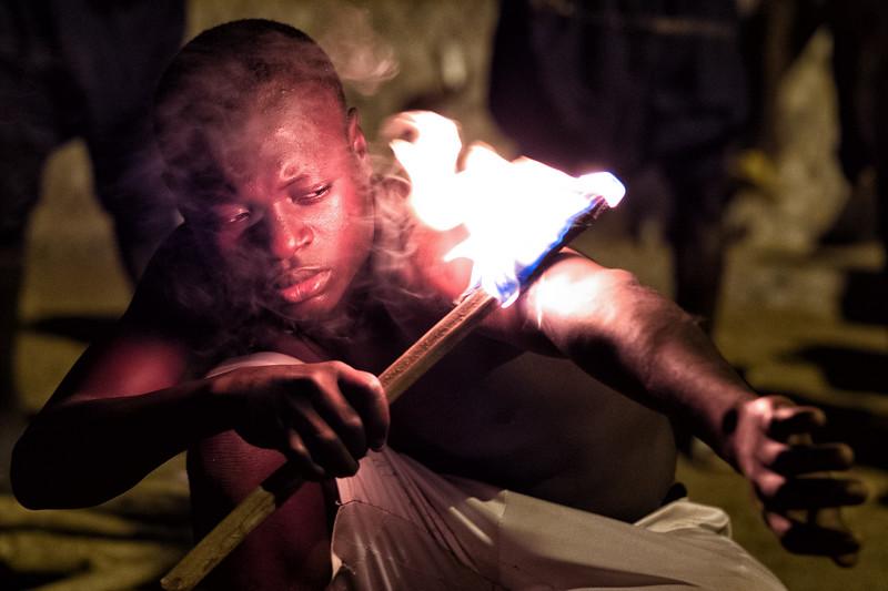 Sokode Fire Dancer, Togo