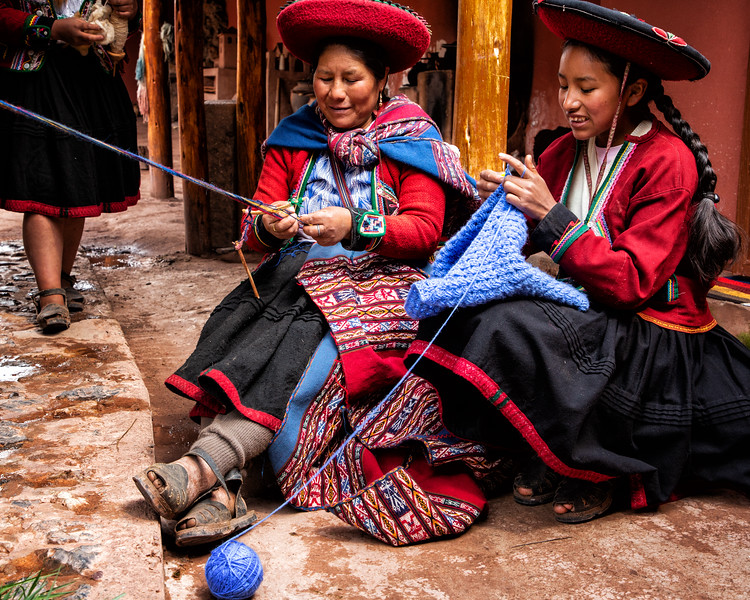 Highland Weavers, Sacred Valley, Peru