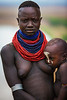 Karo Woman with Child, Ethiopia