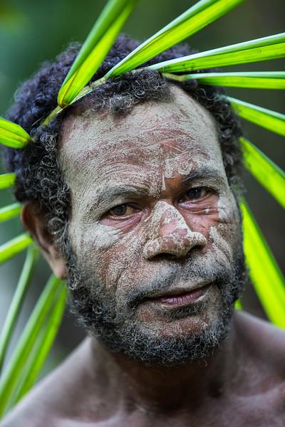 Leaf Crown Man, Papua New Guinea