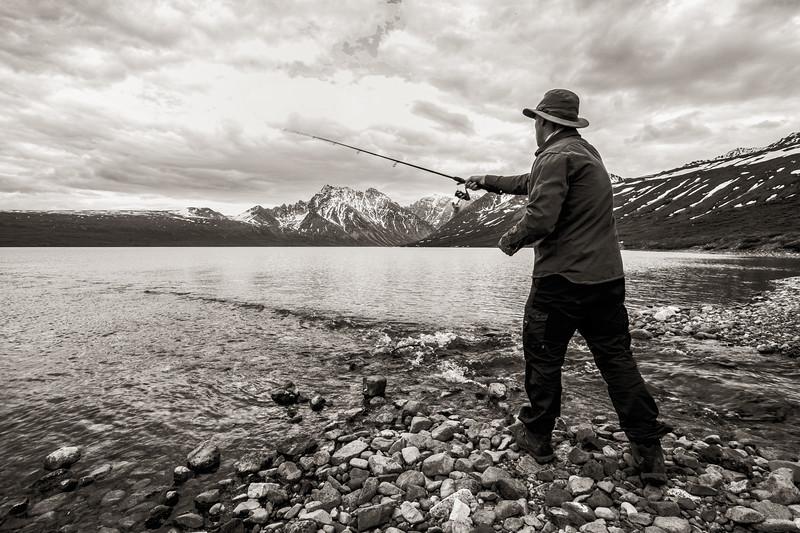 Jay, Turquoise Lake, Alaska