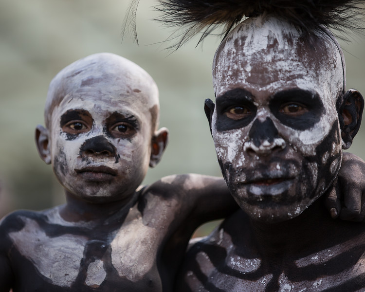 Skeleton Father and Sun, Papua New Guinea