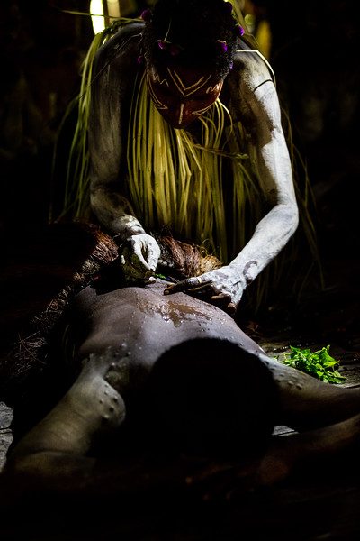 Ritual Scarification, Papua New Guinea