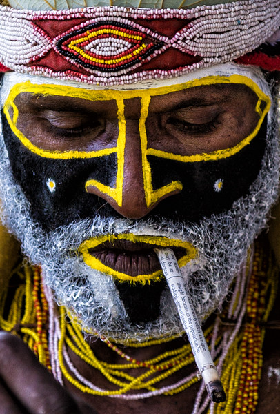 Smoking Man, Papua New Guinea