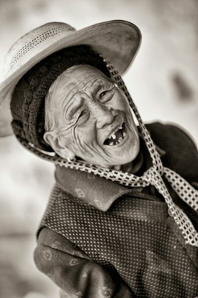 Laughing Woman, Yunnan, China
