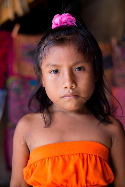 Kuna Girl, Panama