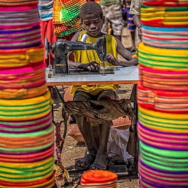 Sewing Boy, Ethiopia