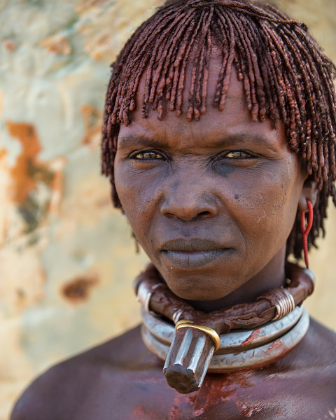 Woman with Necklace, Ethiopia