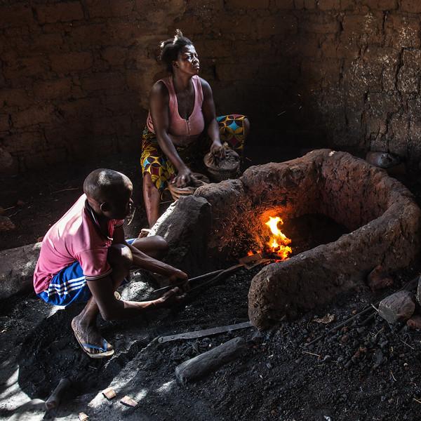 Blacksmiths, Kabye Tribe, Togo