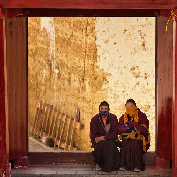 Young Monks, Shangri-La, China