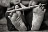 Rungus Feet Weaving, Borneo