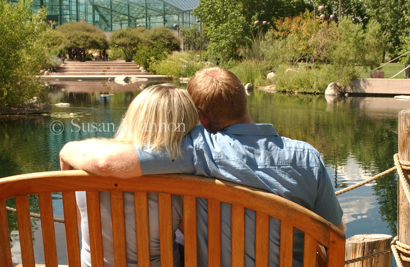 Engagement and a pond