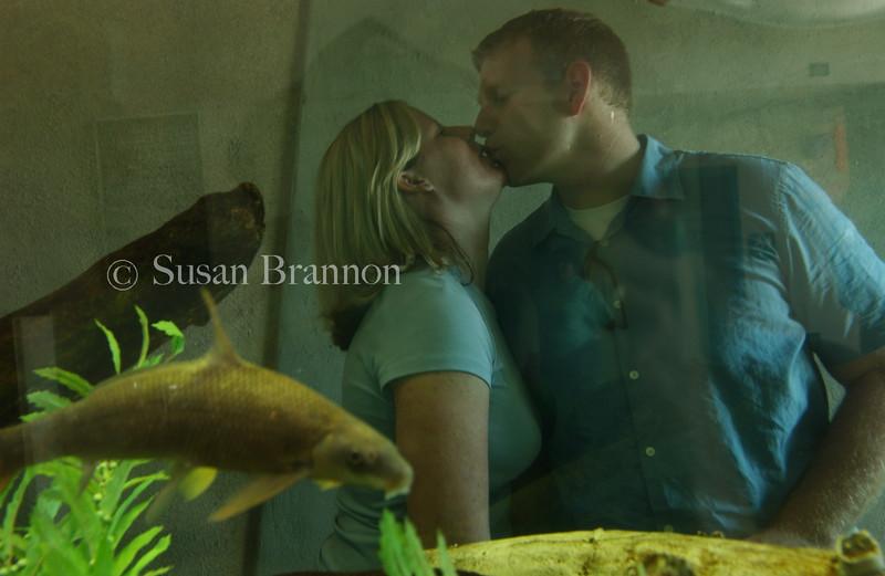 The Fishbowl Kiss