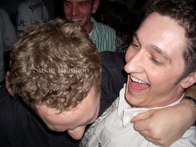 Guys Laughing