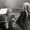 Bedouin Woman Cooking