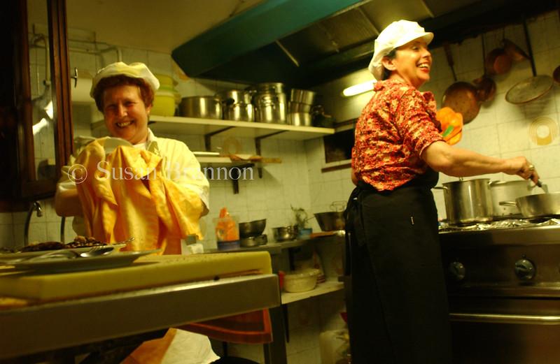 Italian Kitchen Cooking
