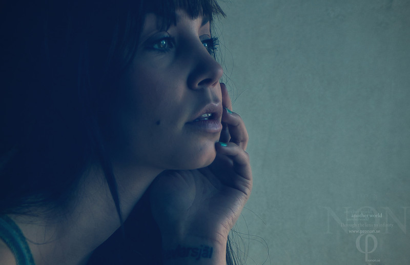"""Longing the night""  Models: Josephine Alabama Becker"