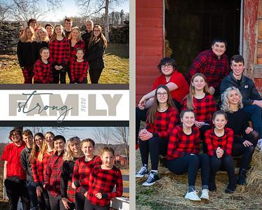 16x20 Collage Horizontal McGrail Family