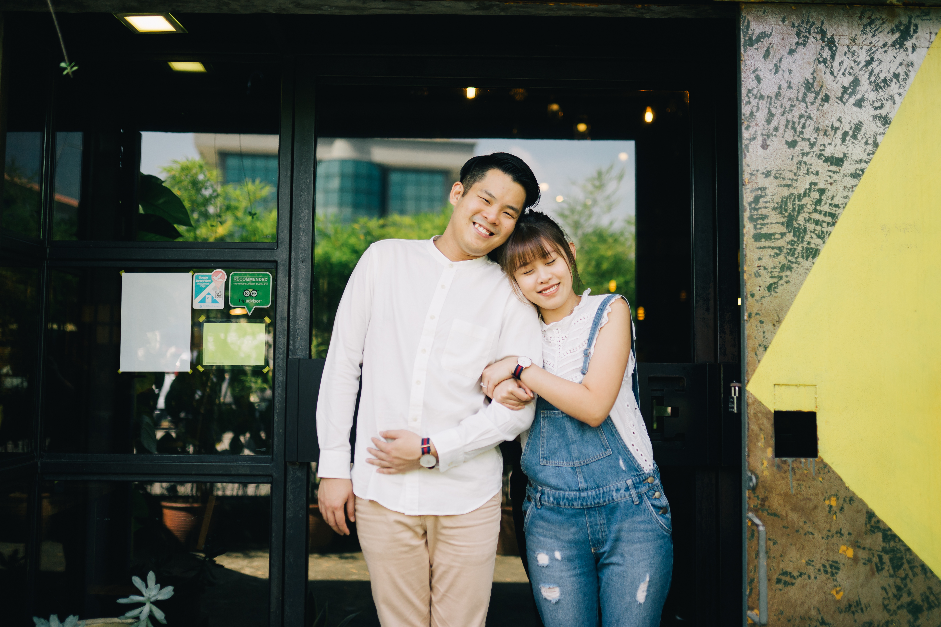 Lifestyle Couple Shoot in Cafe Kuala Lumpur