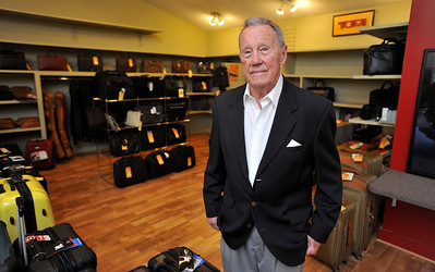 George Mori, owner of Mori Luggage & Gifts on Old Square Road in Jackson, will be closing the business on May 31.