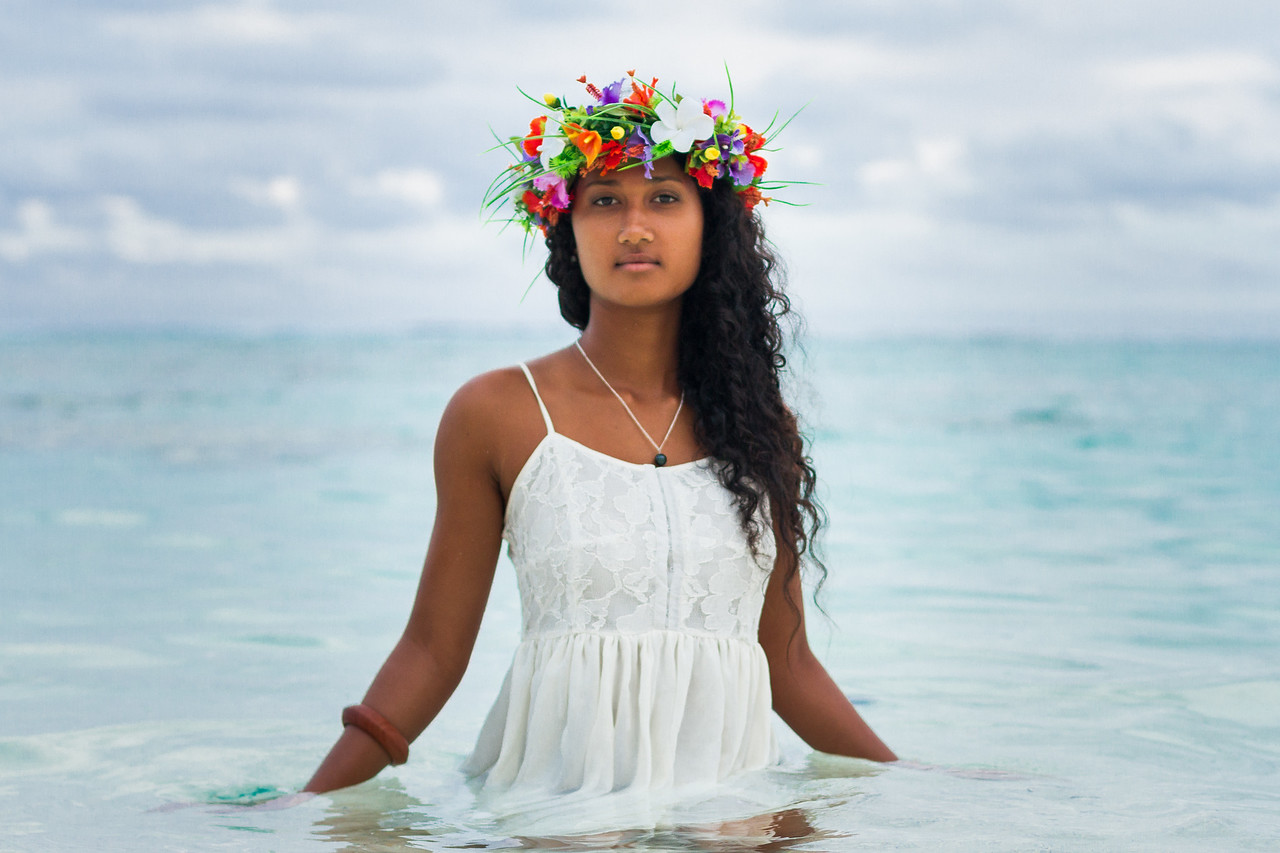 Portraits in Rarotonga, Cook Islands