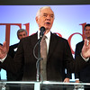 Senator Thad Cochran speaks during a post election celebration Tuesday at the Mississippi Children's Museum in Jakcson.