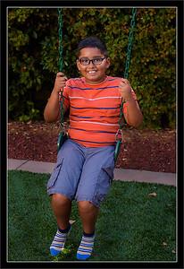 Aidan on Swing