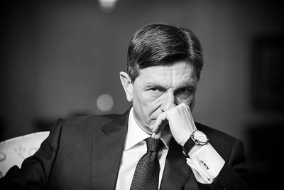 Ljubljana, Interview Borut Pahor
