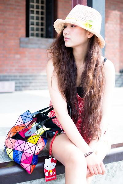 Pretty Taiwanese girl