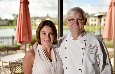 Chef Christian Amelot and daughter Anne Amelot-Holmes are the driving force behind the sucess of Anjou on Township Ave. off Highland Colony Parkway in Ridgeland.