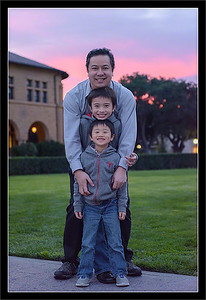 Sunset with the Wong Boys