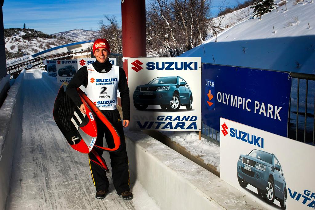 Suzuki, German Luge Team