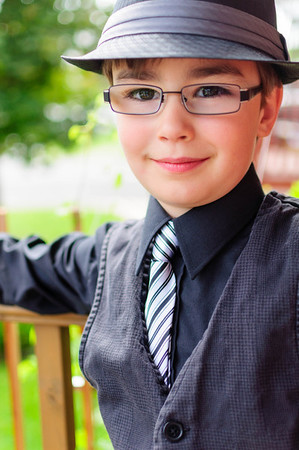Sharp dressed boy