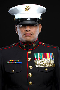 Hearts Apart - Headshot Marine Before Deployment