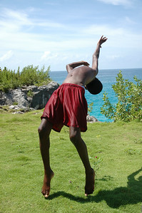 Another shot on the Citronella Marketing shoot. Local kid in Jamaica doing back flips on the cliffs.