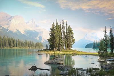 Canada spirit island sky-8463