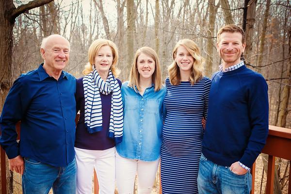 Spring Family Portraits - Brecksville