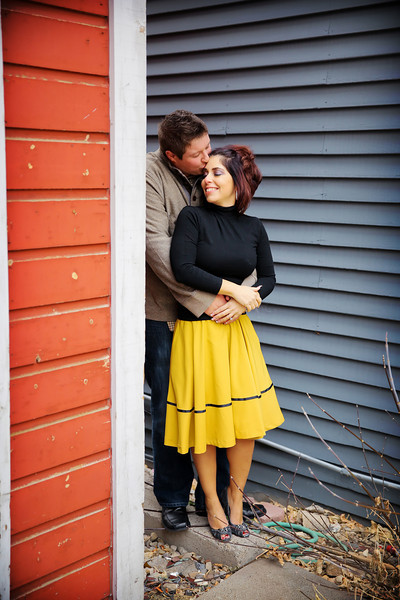 November 8, 2014 - Kristin Marie Raffone and Matthew Oveson