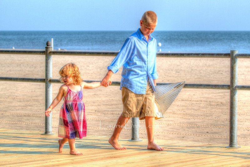 Tone-mapping - rather a Norman Rockwell feel here.