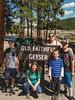 Nick and Family Old Faithful Geyser-3