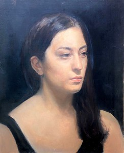 Live Model in Florence (Cesar Santos Portrait Class)