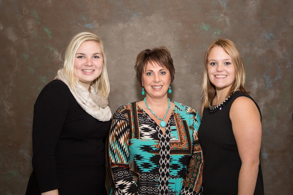 Sonya OBrien, Megan Lawson and