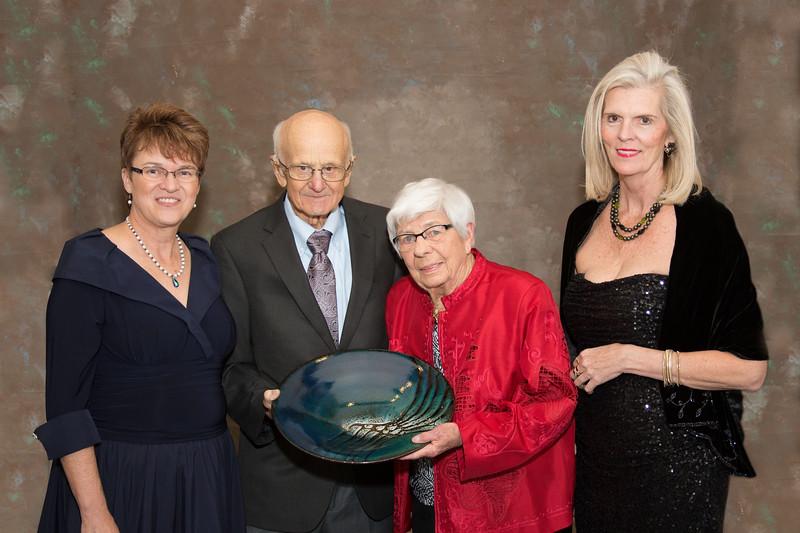 Faith Hensrud, Faculty/Ruth Howe from Phy Ed, Carol Russell