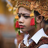 Dancer at the Perang Pandan festival
