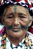 Taiwan, Taroko Gorge, an Ami woman (original inhabitants of the island)