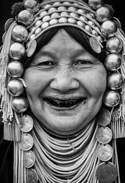 Akha Smile
