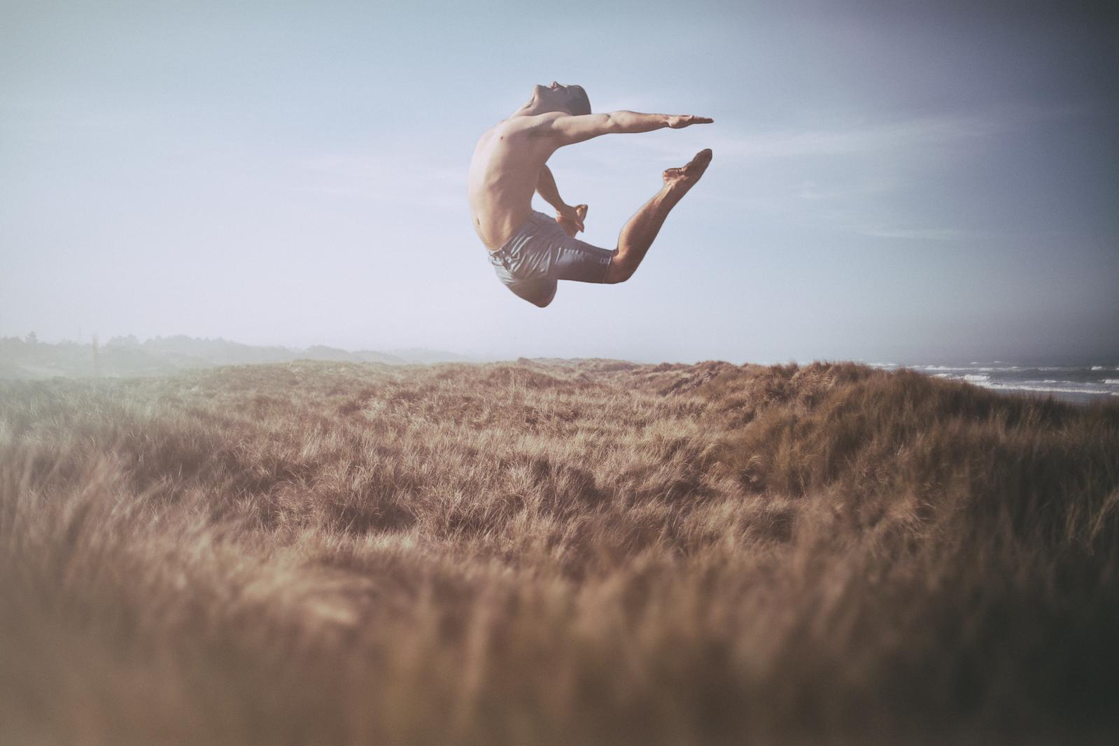 Dancer in the Dunes