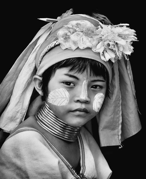 Kayan Girl,  Huay Pu Keng village